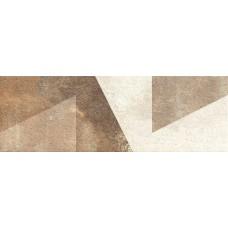 კედლის ფილა DECORADO GEO BEIGE 25x75 დეკორი