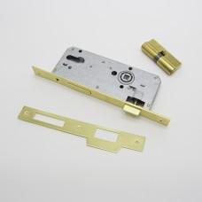 კარის საკეტი ცილინდრული 801 45/85  70MM GOLD