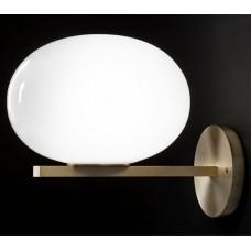 კედლის სანათი SOLE 9223W თეთრი/ოქროსფერი