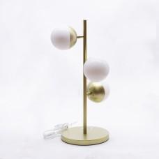 მაგიდის სანათი SOLE 9250T თეთრი/ოქროსფერი