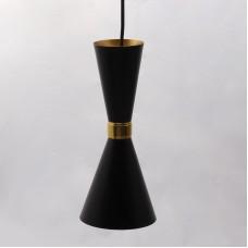 ჭერის სანათი SOLE 10056P/1L შავი