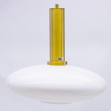 ჭერის სანათი SOLE 10102P/C ოქროსფერი/თეთრი