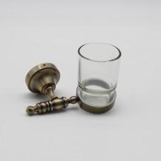 აბაზანის ჭიქა ქრომი/ოქროსფერი ROYAL 181206