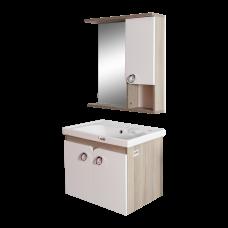 აბაზანის ავეჯის კომპლექტი FRAME 65სმ თეთრი
