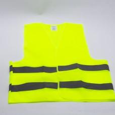სამშენებლო ჟილეტი ნაჭრის VST-305  (ყვითელი) (1*200)