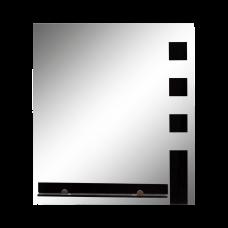 აბაზანის სარკე AmC-16/1-2-1 50*45 შავი