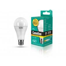 ლედ ნათურა Camelion LED Energy Saving LED Bulbs - 11W/Warmlight/E27 LED11-A60/830/E27 თბილი ნათება