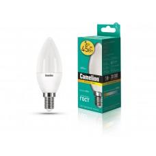 ლედ ნათურა Camelion LED Energy Saving LED Bulbs - 5W/Warmlight/E14 LED5-C35/830/E14 თბილი ნათება