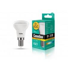 ლედ ნათურა Camelion LED Energy Saving LED Bulbs - 6W/Warmlight/ LED6-R50/830/E14 თბილი ნათება