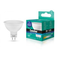 ლედ ნათურა Camelion LED Energy Saving LED Bulbs - 7W/Coollight/ LED7-JCDR/865/GU5.3 ცივი ნათება