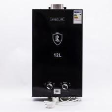 წყლის გაზის გამაცხელებელი 12ლ. RL-0016 2 კამერიანი (კომპლექტი)