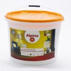 ალპინა ინტერიერის სილიკონის საღებავი ბ1 15 ლტ