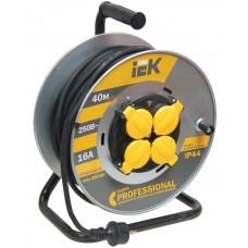 კოჭა  УК40 როზეტის  4 ადგილი  2Р+PЕ/40м КГ 3х2,5мм2 IP44 Professional