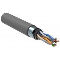 ITK კავშირგაბმულობის კაბელი ხვეული წყვილი, кат.6 4x2х23(0,57мм)AWG solid, PVC, 305м, რუხი