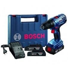 აკუმულატორის დრელი-სახრახნისი Bosch GSR 180 LI (2x2,0Ah Case) Professional