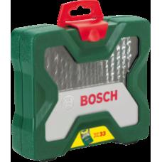 აქსესუარების ნაკრები Bosch X-Line 33ც