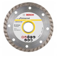 ალმასის საჭრელი დისკი ბეტონის Bosch ECO Universal 115x22.23მმ