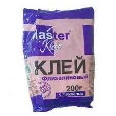 შპალერის წებო MASTER KLEIN ფლიზელინი ეკონომი 200გრ.
