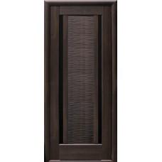 კარის კომპლექტი MDF NS LUISA 215*80 CHESTNUT BLK