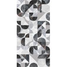 კედლის ფილა Anka PAMIRA BLACK DECOR 30x60 დეკორი