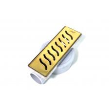 პლასმასის ტრაპი 20 სმ უჟანგავი (GOLD BUKLE)