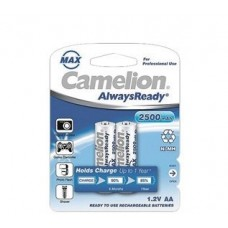 აკუმულატორი, 3038 Camelion AlwaysReady Max AA 2500mAh  2ც შეკრა NH-AA2500ARBP2