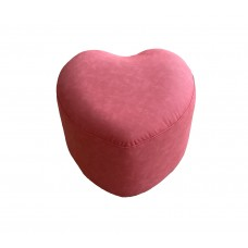 კარკასიანი პუფი გულის ფორმის (წითელი)