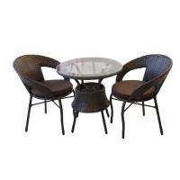 მაგიდა ორი სავარძლით (510)